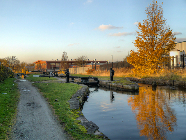 Ashton Canal, Lock 15 (Clayton)
