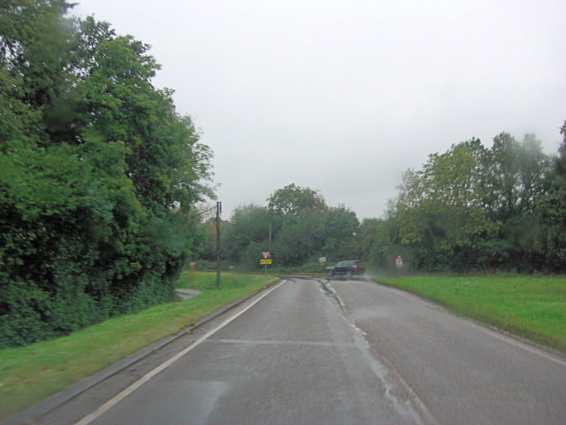 Junction of Culpernham Lane and Sandy Lane