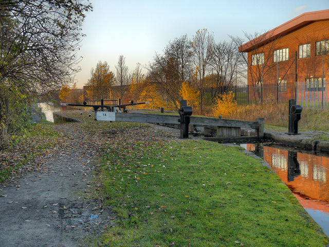 Ashton Canal, Lock 14 (Clayton)