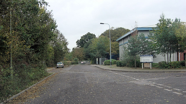 Junction of Brunel Way and Nutwood Way