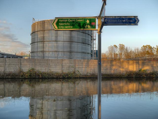 Ashton Canal, Clayton (NCN Route 60)