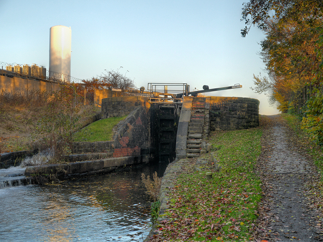 Vinegar Lock, Ashton Canal
