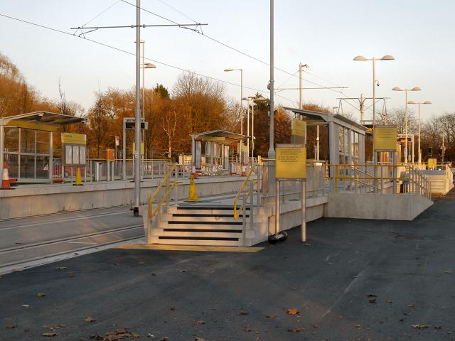 Clayton Hall Tram Station
