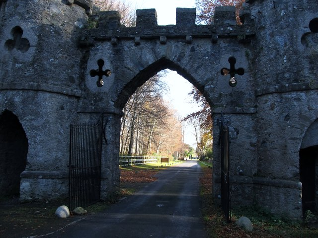 Tollymore Park's Barbican Gate