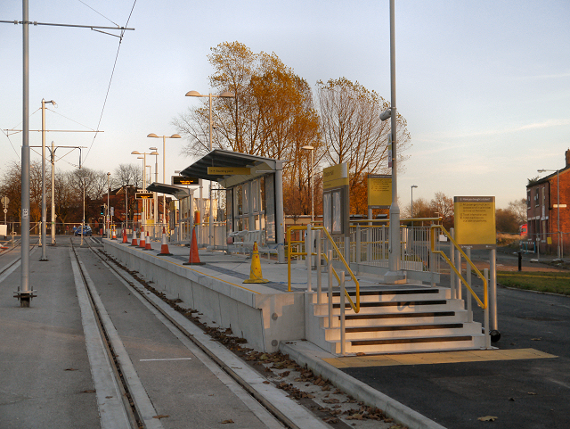 Clayton Hall Metrolink Stop