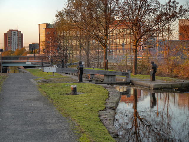 Ashton Canal, Clayton Lock