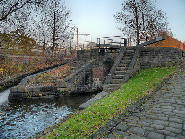 Clayton Lock, Ashton Canal