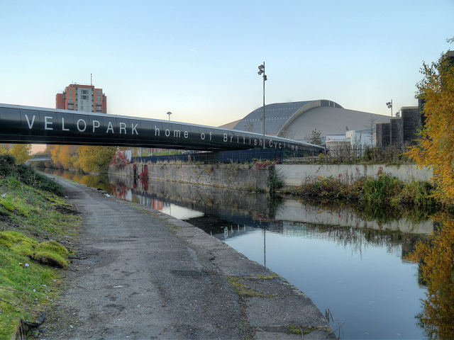 Ashton Canal, Velopark Bridge