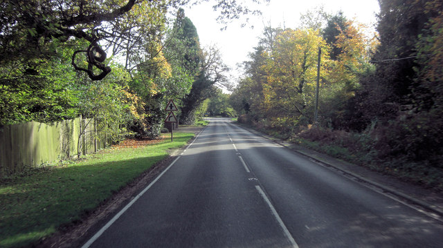 A283 south of Orchard Farm