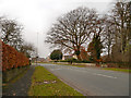 SJ9591 : Compstall Road (B6104) by David Dixon