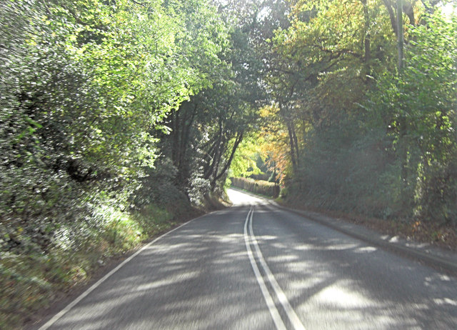 A283 west of Northbridge Farm