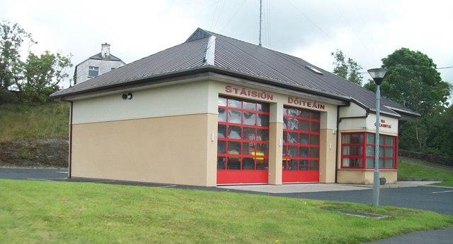Glenties Fire Station - Call Sign Delta-Lima 21