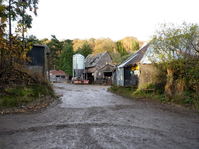 Farm buildings at Broomhill