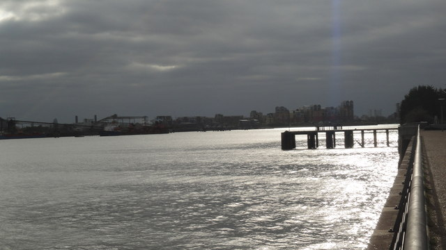 Jetty at Silvertown