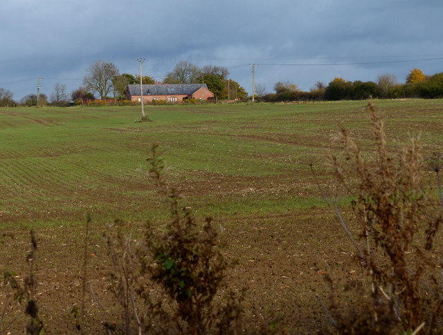 Farmland next to Mere Farm