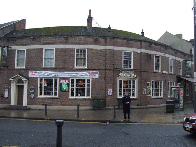 The Hoskins pub, Darlington