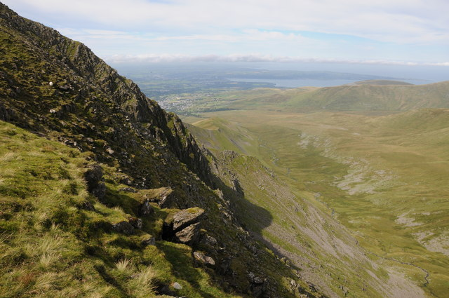 View into Cwm Pen-llafar