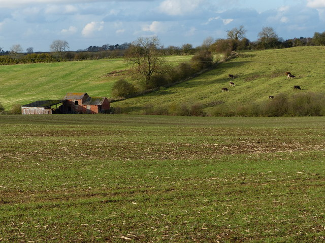 Farmland and buildings