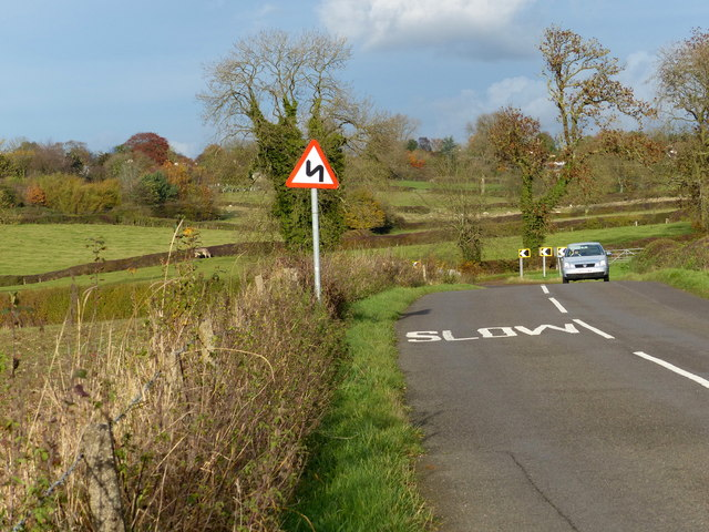 Stretton Lane towards Houghton on the Hill