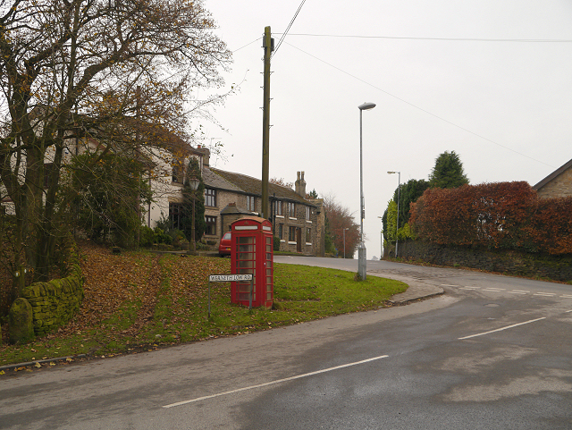 Four Lane Ends, Werneth Low