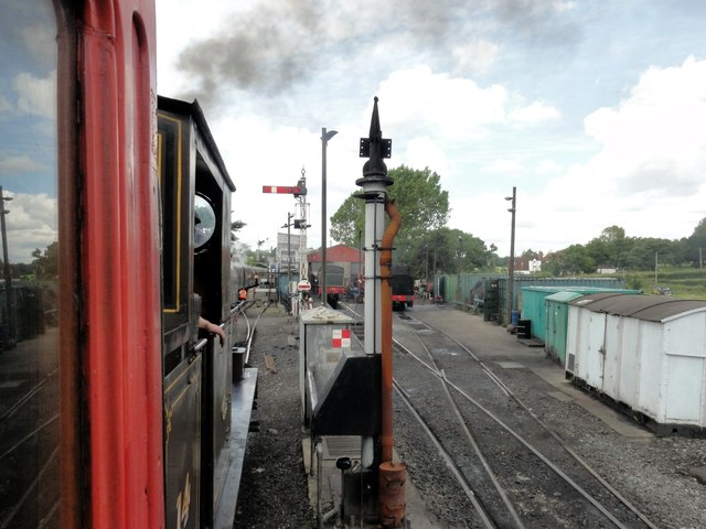 Rolvenden, Kent & East Sussex Railway