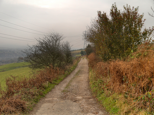Track towards Beacon Houses