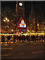 SJ8398 : Albert Square Christmas Market by David Dixon