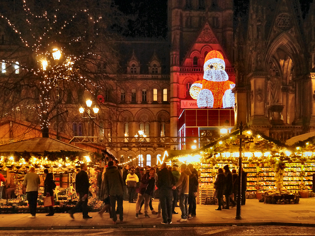 Manchester Christmas Market, Albert Square