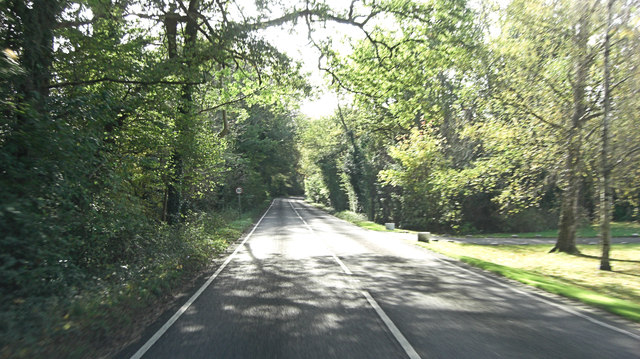 A283 south of Millhouse Farm