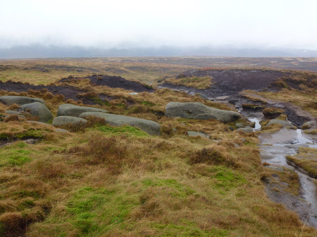 Moorland just south of Bleaklow Head