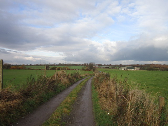 A track leading to Common Lane, Royston