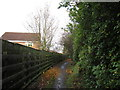 SE3813 : A bridleway leading to Station Road, Ryhill by Ian S