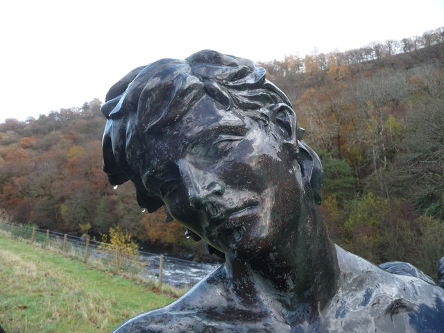 Percy Bysshe Shelley at the Elan Valley Visitor Centre