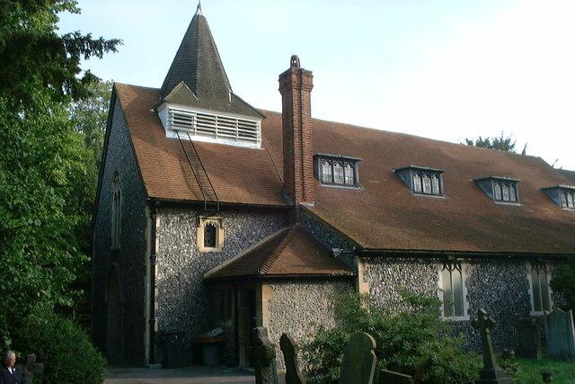 St Mary's church, Merton
