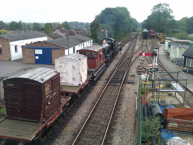 Sidings at Medstead and Four Marks