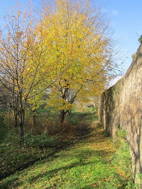 Wall, Holyrood Park