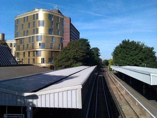 Sidcup Station and The Fold