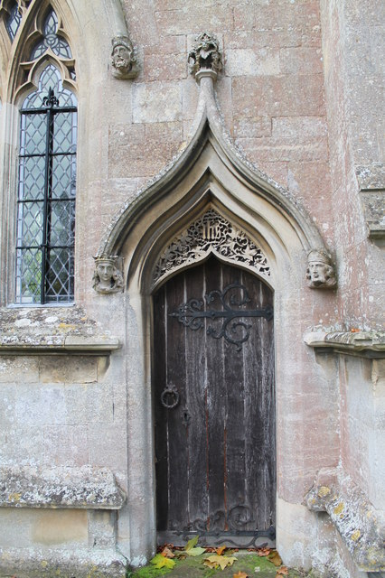 Priest's Door, St Peter's church, North Rauceby