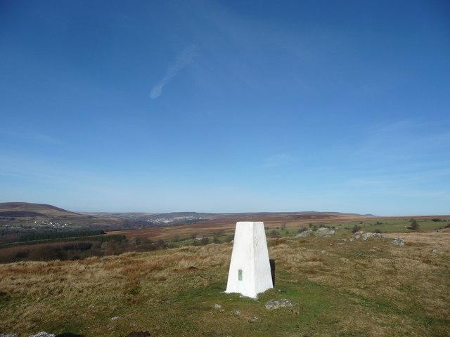 Mynydd Garn-wen trig point
