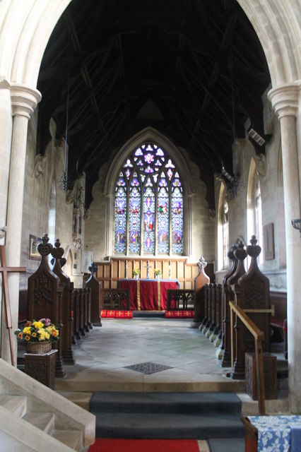 Chancel, St Peter's church, North Rauceby