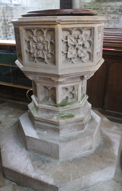 Font, St Peter's church, North Rauceby