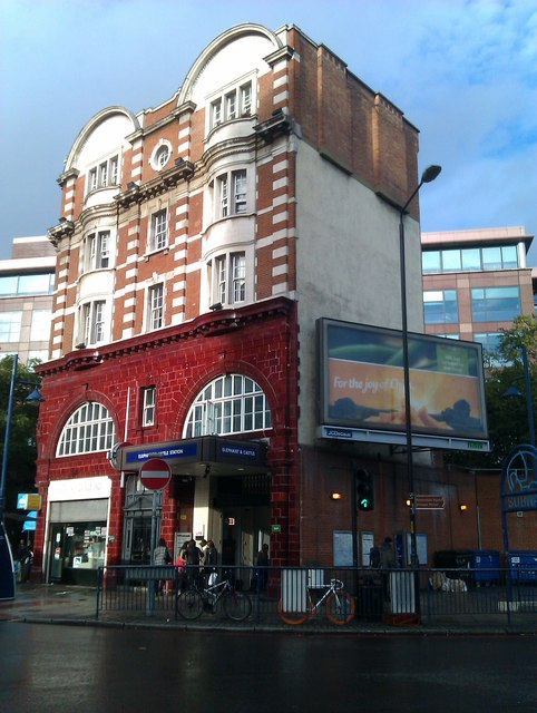 Elephant and Castle Tube Station