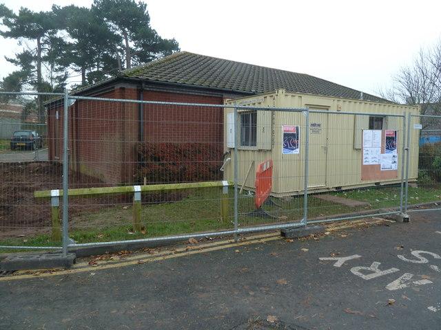 Worcestershire Royal Hospital - building site