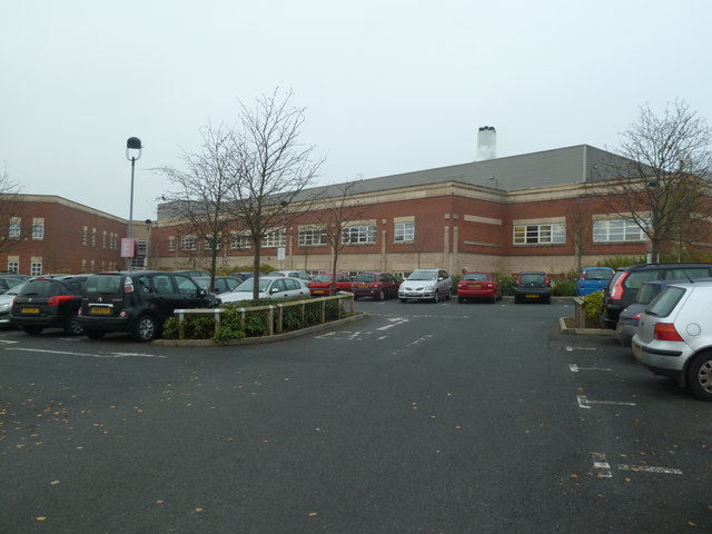Worcestershire Royal Hospital - site of future development