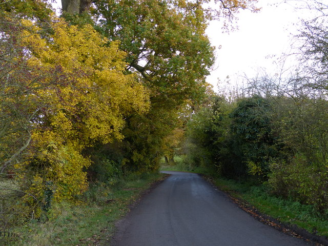 Ingarsby Lane near Old Ingarsby