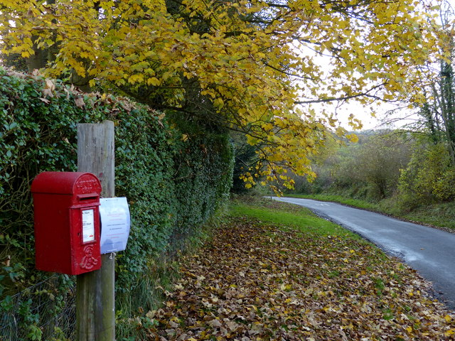 Postbox in Old Ingarsby