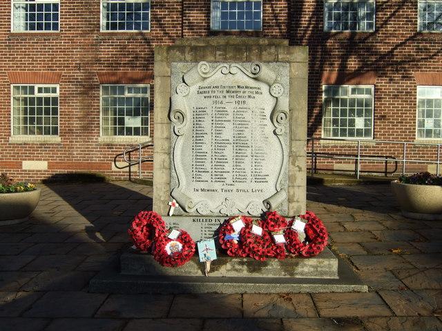 War Memorial, Coxhoe