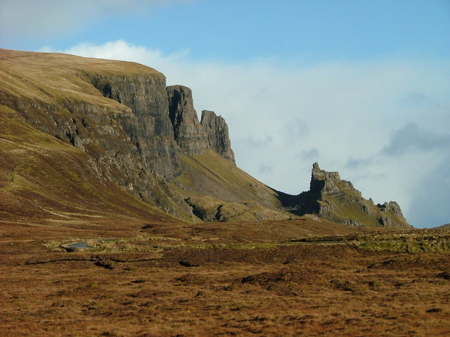 Looking towards The Quiraing
