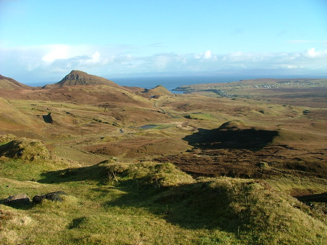 View from the Quiraing road