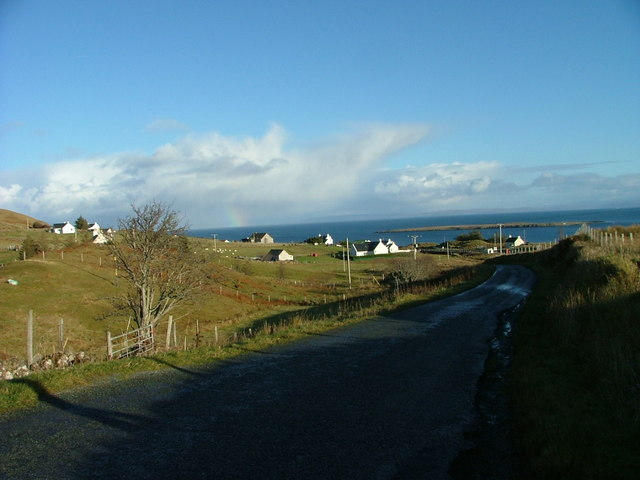Minor road at Balmeanach